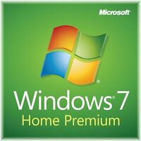 Microsoft Windows 7 Home Premium 32/64 Bit 100% Genuine Fast Download Online