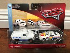 *New* Disney Pixar Cars Diecast Kris Revstopski & Pat Traxson Florida 500 2 Pack