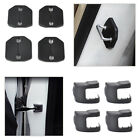 Car Door Striker Lock Protector+Check Arm Cover Fit for Ford Fiesta Focus