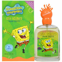 Spongebob Sea Scents by Nickelodeon 3.4 oz EDT Perfume for Women New In Box