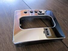 BF FALCON 6 SPEED AUTO CHROME GEAR KNOB LEVER PANEL PLATE FOR XR6/TURBO/XR8/XT..