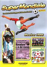 SUPER MONDIALE CALCIO - MEXICO 1986 - STORIA DELLA COPPA DEL MONDO  - PANINI