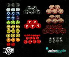 Neverborn M3E Deluxe Set Without Box Custom Meeple New MEEP-MLF01671LT-NEVERBORN