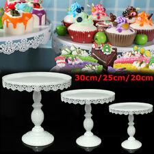 Classical Round Cake Stand Display Dessert Holder Wedding Party Decor 20-30CM