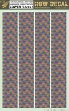HGW 1:32 4 Color Lozenge Faded Base White Fabric Texture Lower Decal #532047
