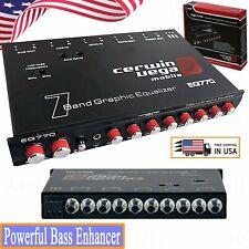 Cerwin Vega Eq-770 7-Band Parametric E  00006000 with Auxiliary Input