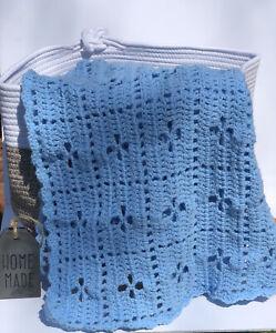 handmade crochet afghan / throw blanket new Baby Shower Gift