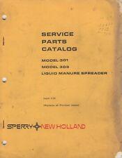 5 1982 New Holland Liquid Manure Spreader Models Service Parts Manual 440