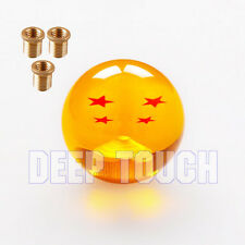 Dragon Ball Z 4 Star 54mm Shift Knob With Adapters Universal Will Fit Most Cars