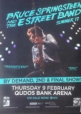 Bruce Springsteen and the E Street Band Promotional Tour Poster