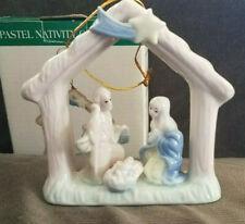 Pastel Nativity Ornament, International Bazaar, Porcelain