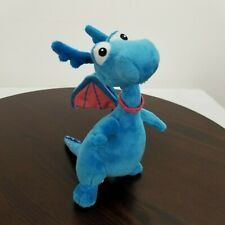 Disney Jr Doc McStuffins Stuffy Blue Dragon Plush Stuffed 9""