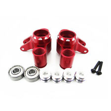 Traxxas T-Maxx 1:10 Alloy F/R Axle Carrier, Red by Atomik - Replaces TRX 5334R