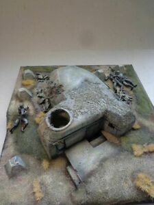 Verlinden WWII Heavy Machine Gun Bunker Model