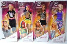 WWE Superstars Fashion Dolls Carmella, Lana, Natalya & Asuka Free Shipping!