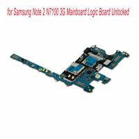 Motherboard for Samsung Note 2 N7100 3G Mainboard Logic Board Unlocked