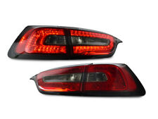 4 PIECES LH+RH/Inner+Outer Smoke LED Rear Tail Lights For 14-17 Jeep Cherokee KL