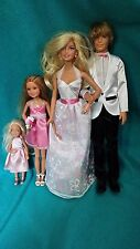 Barbie I Can Be A Bride Wedding Day Set Exclusive Barbie Ken Stacie Chelsea