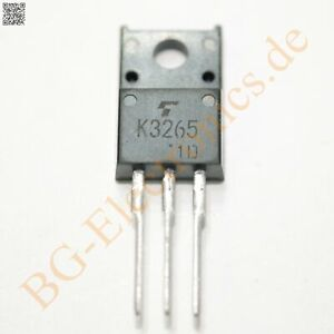 1 x 2SK3265 N-channel Power Transistor 700V  Toshiba TO-220F 1pcs