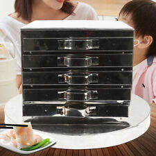 5 Layer Steamer Stainless Steel spare drawer cooker set Food Steaming Machine Us