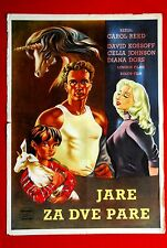 KID FOR TWO FARTHINGS DIANA DORS 1955 DAVID KOSSOFF EXYU MOVIE POSTER UNICORN