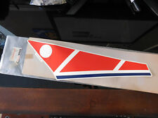 YAMAHA RZ350 WINDSHIELD WARNING DECAL GRAPHICS LIKE NOS