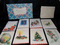 Vintage Christmas Card Box Set