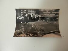 Original Photo. President LeBrun with Opel. Probably Paris Motor Show.
