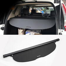 Fit For 2017-2018 Honda CR-V Rear Tail Trunk Cargo Cover Shield Shade in Black