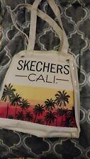 Skechers Cali Canvas Shoe/Travel Bag With Vinyl Pockets Inside