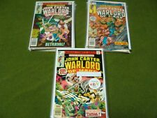 John Carter, Warlord of Mars (1977-1979) Complete 28 Issue Series + Annuals 1-3