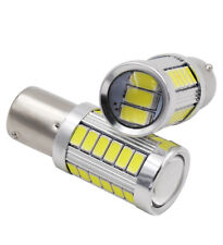 2x VW T5 T6 TRANSPORTER MEGABRITE WHITE CREE LED P21W 1156 BA15S DRL UPGRADE