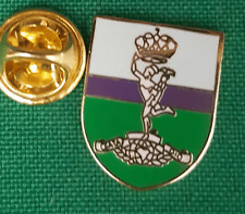 Royal Signals Corps on Shield Lapel Pin badge in Pouch Gift Idea M064