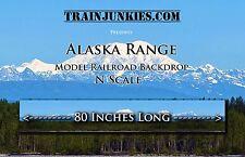 "TrainJunkies N Scale  Alaska Range 12x80""  C-10 Brand New"