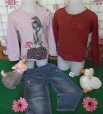 vêtements occasion fille 3 ans,gilet LA COMPAGNIE DES PETITS,sweat,jean