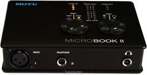 MOTU MicroBook IIc - Personal Studio Recording.  Evolved