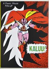 POWER PIN-UP Print - KALUU Vintage Art Marvel UK Distribution Avengers
