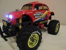 NEW Custom Build HeadLights & Blinkers Tamiya 1/10 Monster Beetle 2015 RTR 58618