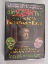BIG SCREAM TV VOL. 1 THE BOO TUBE: VIRTUAL HALLOWEEN HAUNTED HOLOGRAM ILLUSIONS!