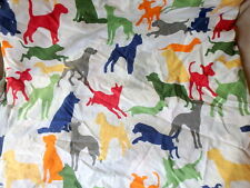 Pottery Barn Kids OLIVER'S DOG Full Flat Sheet 85x82