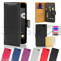 New PU Leather Book Wallet Flip Case Cover for Amazon Fire Phone + Screen Guard
