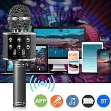 Bluetooth-Funkmikrofon Karaoke Lautsprecher Mikrofon Handheld KTV Microphone DE