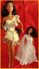 "POCAHONTAS"" SUPERSIZE BARBIE 47cm  DISNEY PRINCESS 1995 MATTEL  Nativ American"