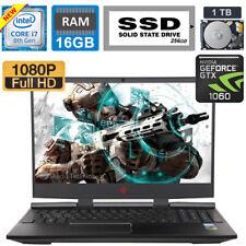 New listing Hp Omen-15.6 Hexa Core 8th Gen i7-8750H/6Gb Nv Gtx 1060/1Tb+256Gb Ssd/16Gb Ram
