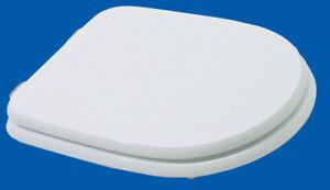 coprivaso in legno mod aretusa cm 36x46 sedile copriwater tavoletta bianco