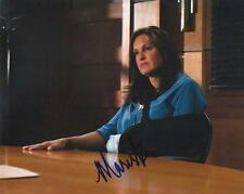 MARISKA HARGITAY.. Law and Order: SVU's Special Victim - SIGNED