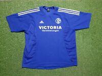 FC Schalke 04 Trikot XXL 2003 2004 Adidas Football Shirt Jersey Victoria