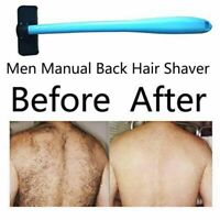 Men Manual Back Hair Shaver Trimmer Long Handle Big Blade Hair Removal Razor`