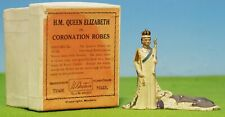 BRITAINS H.M. QUEEN ELIZABETH IN CORONATION ROBES NO 1056 - BOXED  ULTRA RARE 🔥