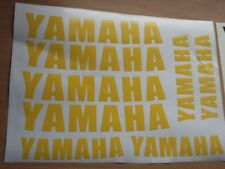 8 x YAMAHA WHEEL STICKERS  Motorcycle/Moto Vinyl Sticker Decals. 7 YEAR VINYL
